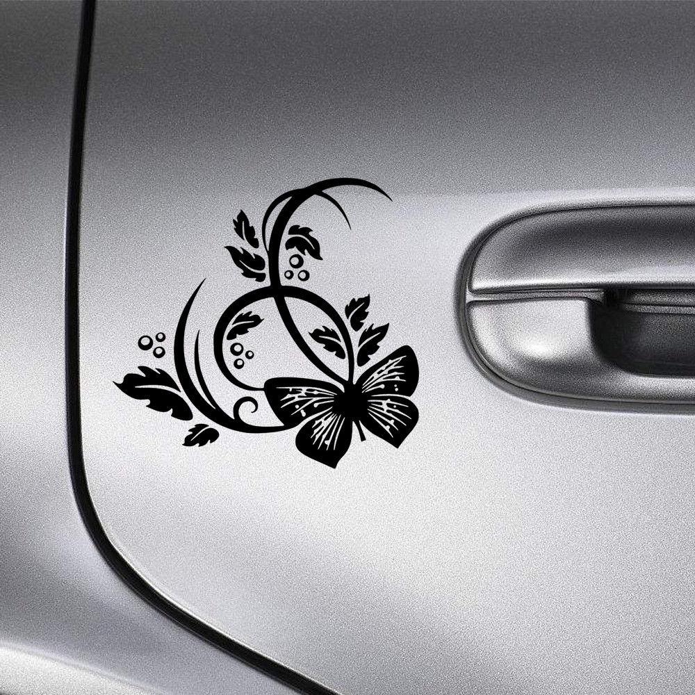 Flowers Vinyl Sticker for Car Wall Laptop Bumper Decal