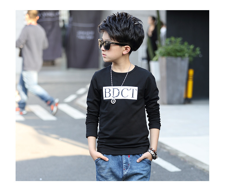 fashion casual pink green black striped o-neck t shirt for boys long sleeve t shirt kids boy tee tops clothes new 2017 spring autumn teenage boys clothing 6 7 8 9 10 11 12 13 14 15 16 years old little teenage big boys t shirt long sleeve (5)