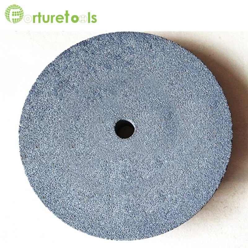 Meule 1 pièce en oxyde d'aluminium noir et blanc et carbure de - Outils abrasifs - Photo 3