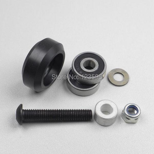 Strong Solid Derlin V Wheel Kit for Openbuilds V-Slot rail,OX CNC,V Slot,solid wheel--Lot20