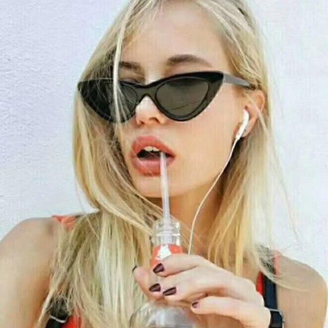 Evrfelan 2018 New Fashion Women Sunglasses Cat eye Eyewear Brand Designer Retro Sunglass Female UV400 Sun glasses