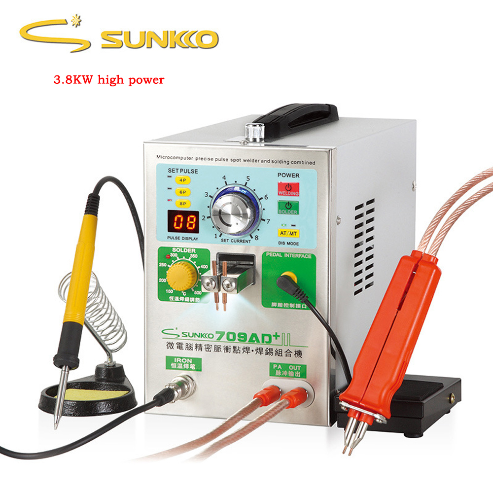 Image 2 - 709AD+ lithium battery induction automatic spot welding machine 3.2KW high power maximum welding thickness 0.35mm welding machinbattery spot welding machinespot welding machinebattery spot welding - AliExpress