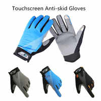 1 Pair M/L/XL Bicycle Gloves Full Finger Anti-skid Touchscreen Men Women MTB Bike Gloves Cycling Outdoor Breathable Summer Mittens