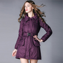 Womens Winter Jackets And Coats 2016 Plus Size Parkas For Women Winter Cotton-Padded Clothes Parka casaco feminino