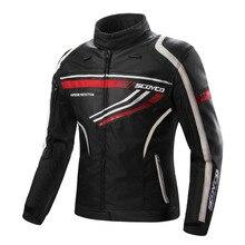 SCOYCO Moto Veste Chaqueta Moto Jaqueta Motoqueiro Blouson Moto Homme Protection Engrenages Vêtements Armure Motocicleta JK37