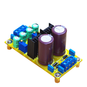 Image 4 - Lusya diy lm317 lm337 dc 조정 가능한 전원 공급 장치 모듈 보드 포지티브 및 네거티브 조절 가능