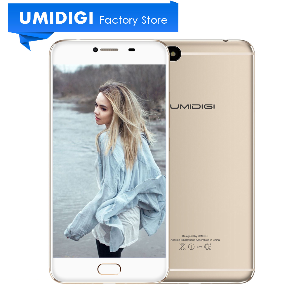Umidigi C Note MTK MT6737T 64 Bit Metal Mobile Phone 5 5 3GB RAM 32GB ROM