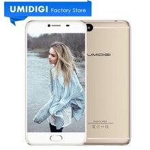 Umidigi C Note MTK MT6737T 64 Bit Metal Mobile Phone 5.5″ 3GB RAM 32GB ROM 3800mAh Battery Gray Gold Color 4G LTE Smartphone