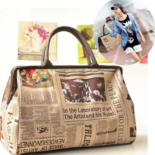 Women Retro Bags Tote Purse Leather Women Messenger Hobo Bag Messenger Purse Satchel Vintage  Travel Bags