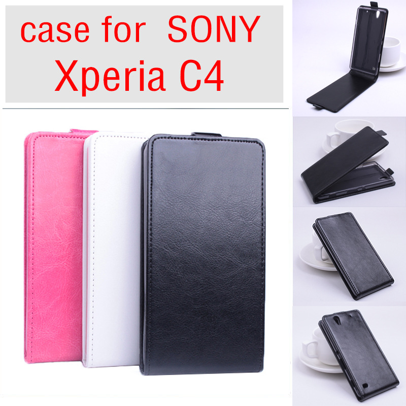 For <font><b>Sony</b></font> <font><b>Xperia</b></font> C4 Dual <font><b>E5333</b></font> E5303 E5306 Case Pu Leather Flip Covers Housing for <font><b>Sony</b></font> E 5333 /E 5303 / E 5306 Phone Cover Cases image