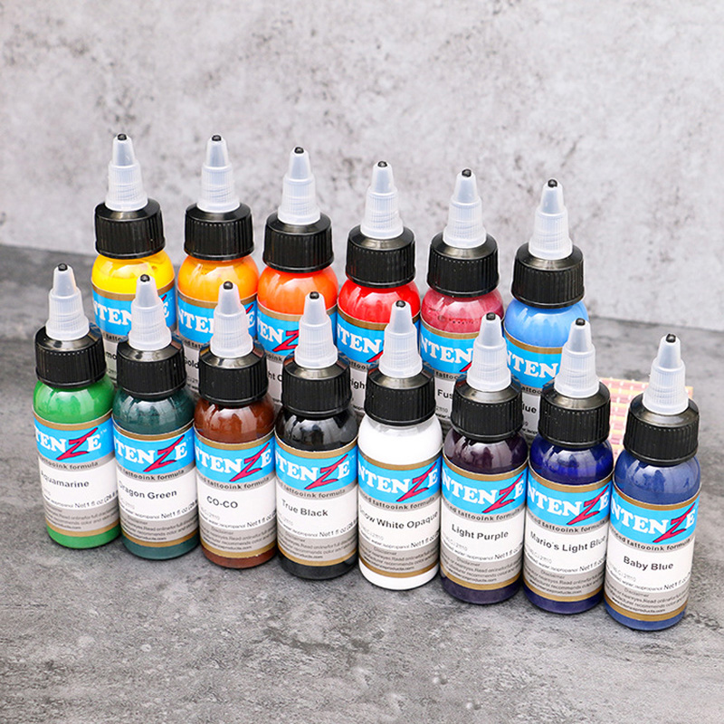 30ml/ bottle tattoo ink set Microblading permanent makeup art pigment 14 PCS cosmetic tattoo paint for eyebrow eyeliner lip body30ml/ bottle tattoo ink set Microblading permanent makeup art pigment 14 PCS cosmetic tattoo paint for eyebrow eyeliner lip body