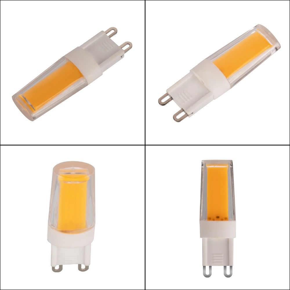 5 Вт G9 удара шарика Лампа накаливания со стеклянным колпаком обеденный потолок в корридоре свет заменяемая лампочка (теплый белый) AC 220-240 V 4 шт