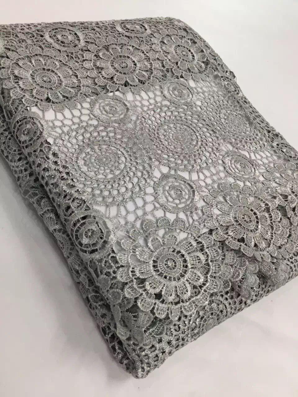 Fabric 5y/lot cord nigerian