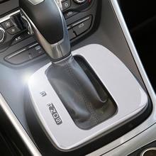 DWCX Argento ABS Cromato Del Cambio Pannello Telaio di Copertura Trim Accessori auto Misura Per Ford Escape Kuga 2013 2014 2015 2016