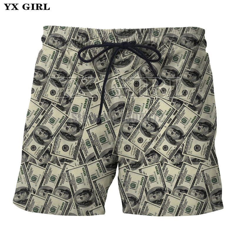 Casual Shorts Yx Girl Newest Skull Flowers Printing Shorts Men Women Bottoms Summer Shorts 2018 Casual Beach Shorts Unisex Short Pants Low Price