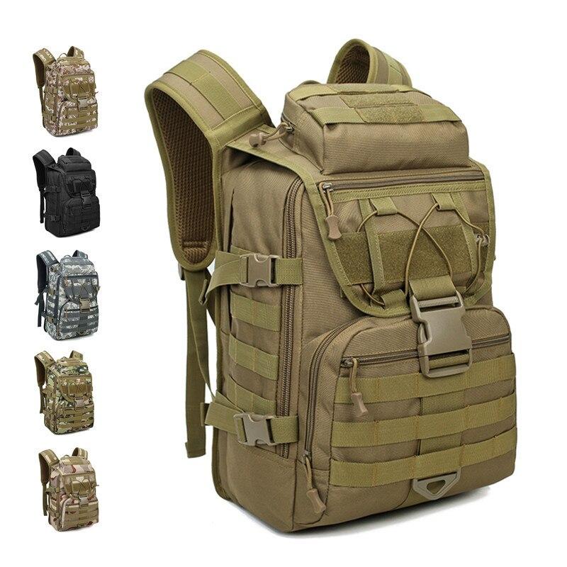 Sac à dos tactique sport alpinisme militaire sacs à dos homme camouflage sac de voyage 40L sac extérieur armée sac à dos étanche