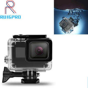 for Gopro accessori Hero 7 6 5 Accessories Waterproof Protection Housing Case Diving 60M Protective For Gopro Camera diving waterproof case underwater housing case mount camera accessories for gopro hero 6 5 black action