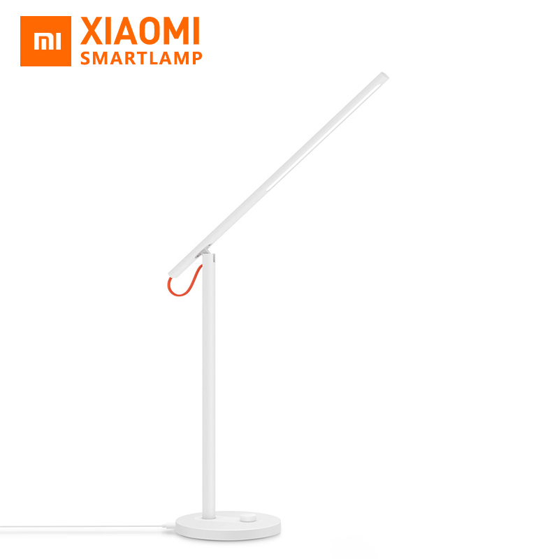 Prix pour D'origine xiaomi lampe de bureau mijia led smart table lampes desklight xiaomi led étude lampes support mobile téléphone app contrôle