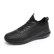 New knitting Running Shoes men male Sneakers for men travel sport shose men walking athletic shoes zapatillas hombre size39-44(China)