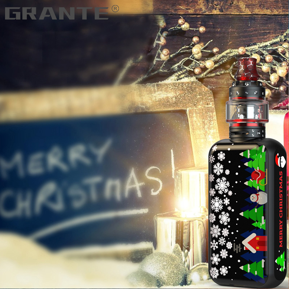Grante Vape Box Mod Kit 3.5ml Top Filling Atomizer With 0.5 ohm Coil Without 18650 Battery Vape Mod Vaporizer VS SMOK X-Priv Kit3