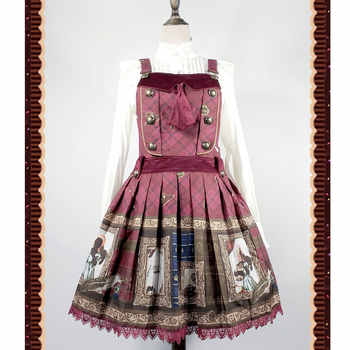The Magic Dictionary ~ Steampunk Style Lolita JSK Dress by Infanta - DISCOUNT ITEM  10 OFF Novelty & Special Use