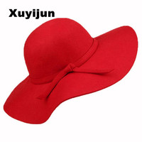 New 2016 Summer Hat Ladies Women S Fedora Beach Sun Hats Floppy Wide Large Brim Cloche