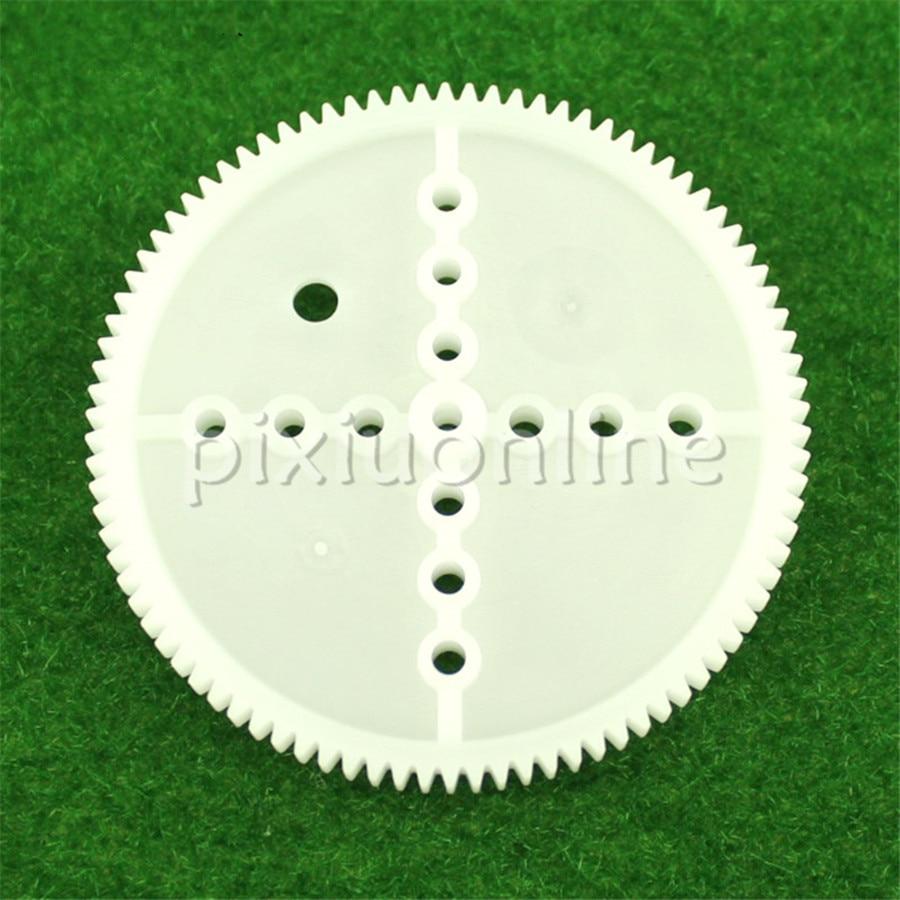 5pcs/bag J684 90T Module 0.5 Thicken Diameter 45.7mm Plastic Gears Free Russia Shipping