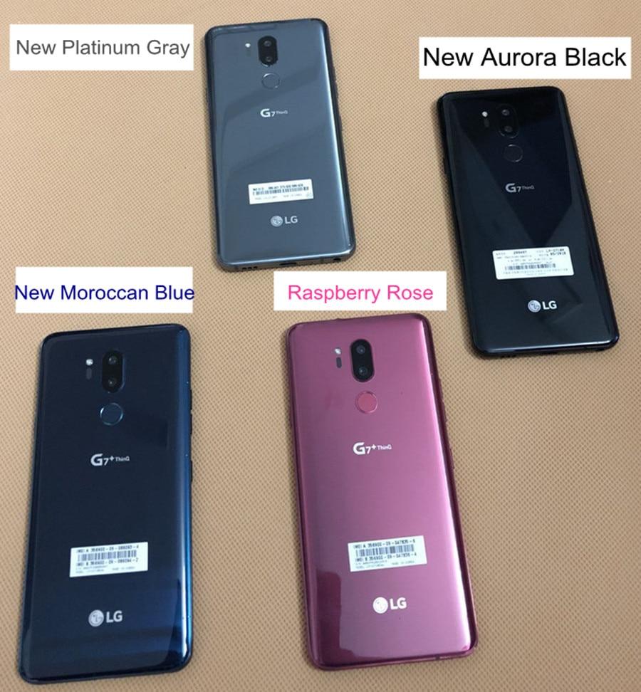 LG G7 ThinQ 64G ROM 4G RAM Original Unlocked LTE Android Octa Core 6 1