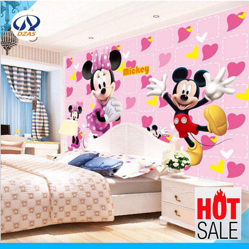 Nette mickey Mouse wandaufkleber warm kinderzimmer cartoon ...
