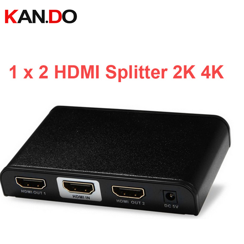 312PRO 2K 4K video splitter 1080P 2 Port HDMI divider,HDMI splitter,1X2 HDMI power splitter video divider HD video adapter top speed 1 to 4 hdmi splitter 1080p 4 ports output 1 4v 3d hdmi swicth 1 4 audio and video hdmi divider for ps3 tv dvd pc