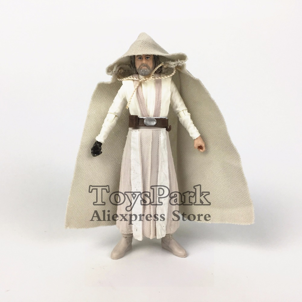 ToysPark Star Wars Luke Skywalker Jedi Master 3.75 Action Figure Episode 8 The Last Jedi 2017 Black Series Walmart Exclusive футболка классическая printio star wars the last jedi