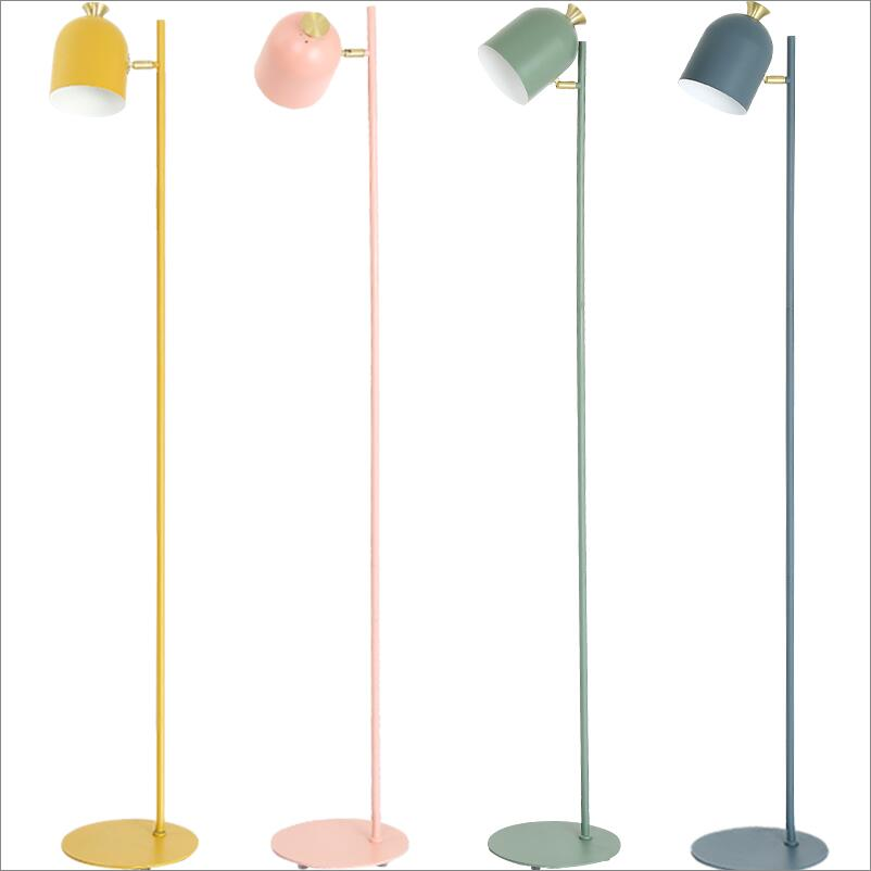 Shade Up Down Iron Floor Lamps