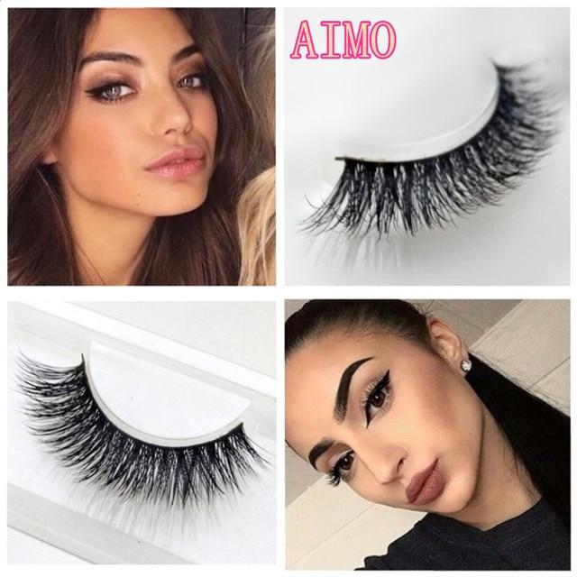 f9f55375f7c Big eyes beauty 3D Stereo multilayer Hand Made false eyelashes mink Lashes  thick become warped eyelashes Fashion fake eyelashes