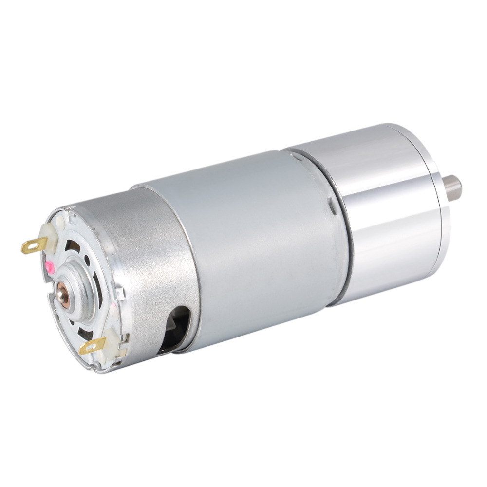 UXCELL New Hot Sale DC12V 24V 200RPM 300RPM 1kg.cm 0.8kg.cm 5kg.cm 0.6A 7.2W Gear Motor High Torque Electric Reduction Gearbox