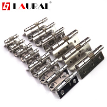 Stainless Steel 304 Cabinet Hinge 1 , 1.5,2 and 2.5 Inch Spring Hinge  Automatic Closing Back Wooden Box Small Loose Leaf
