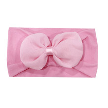 11 Colors Newborn Baby Kid Bow-knot Headband Patchwork Knot Hair Band Cute Lovely Accessories Headwear for Girl