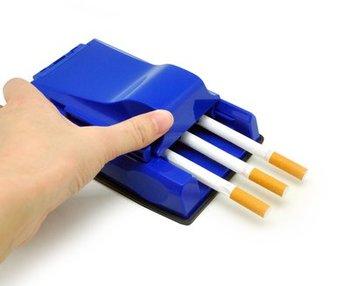Instrukcja potrójne tytoniu papierosów wtryskiwacza Roller Maker maszynka do skręcania papierosów narzędzia papierosów palenia chwastów akcesoria tanie i dobre opinie 5062 Prosta Sanda plastic 192g as shown below mixed colors China (Mainland)