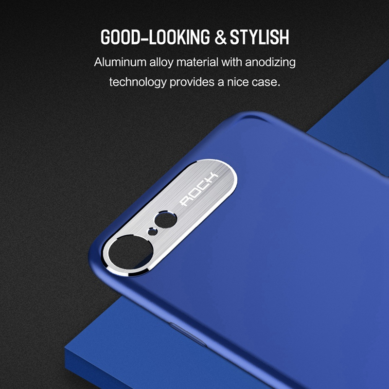 For iPhone 8 8 Plus Case, ROCK Luxury Business Style  PC Shell Protective Back Case Cover For iPhone 8 7 7 Plus iPhone 8