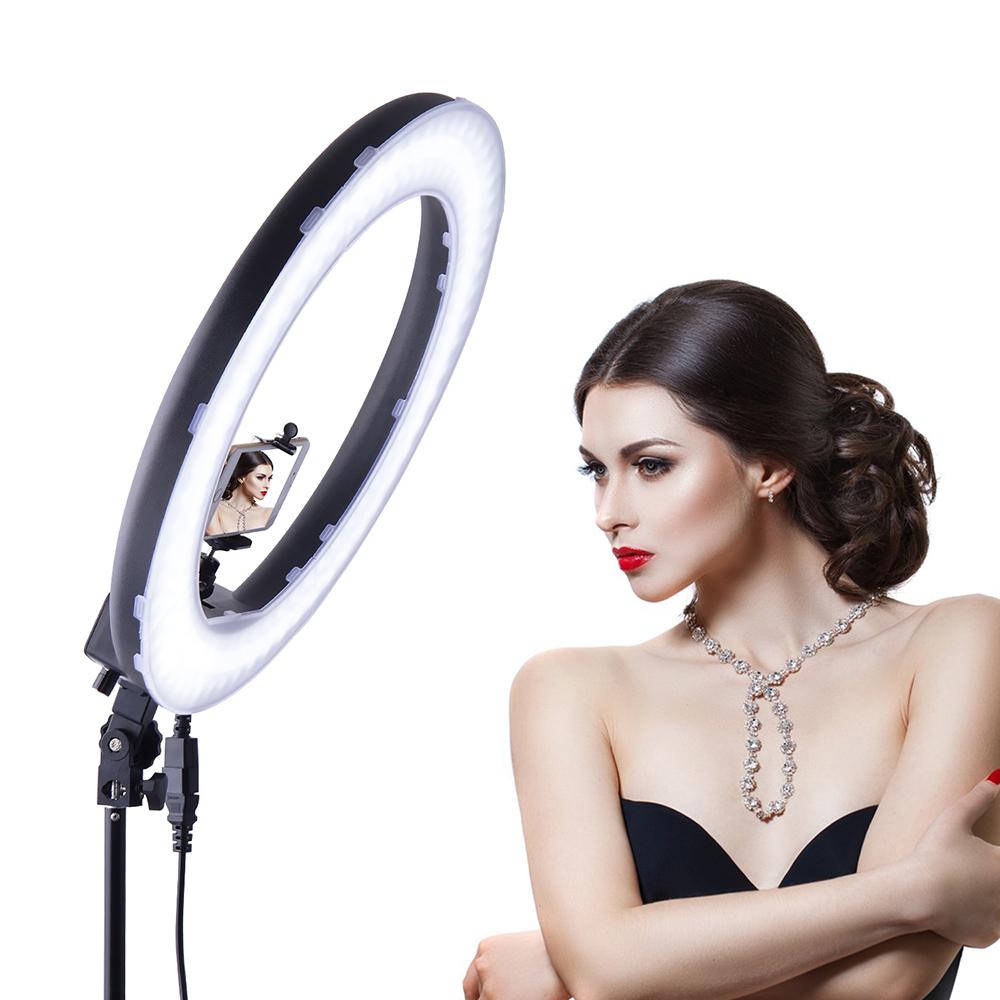 1bfa362570 RL188 5500K 240 LED Photographic Lighting Dimmable Camera Photo ...