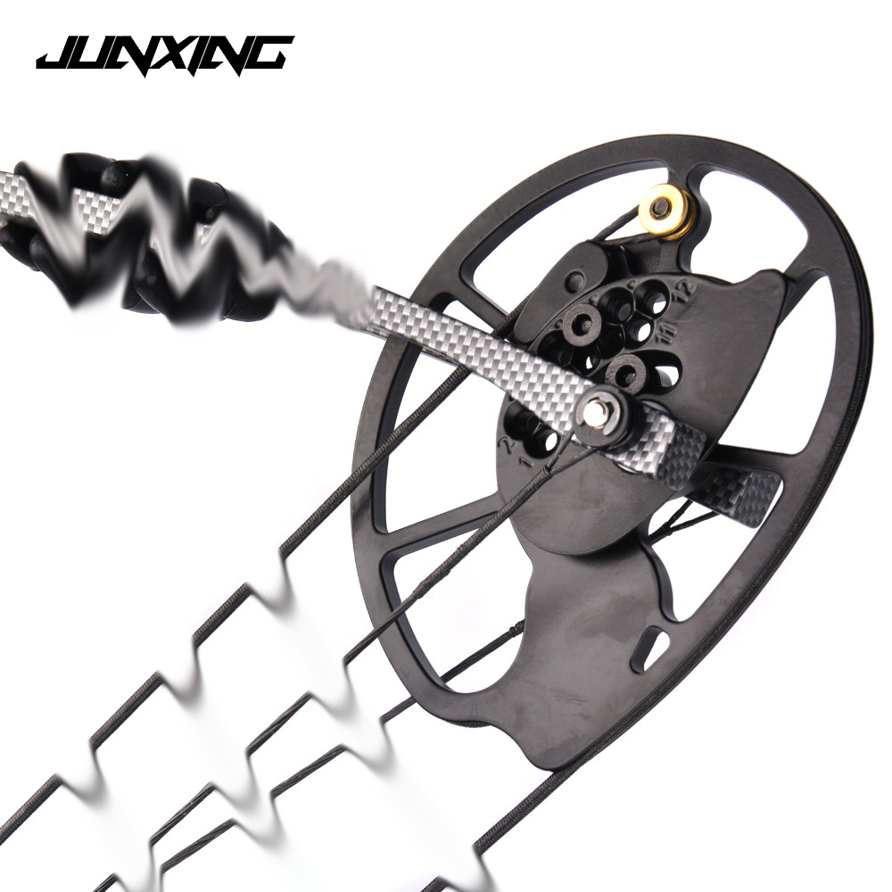 1 Pair Compound Bow Pulley Aluminum Alloy Suit 20-70 LBS Compound Bow DIY for Outdoor Hunting Shooting Fishing 35 70 lbs powerful compound bow aluminum alloy archery bow arrow for outdoor hunting shooting