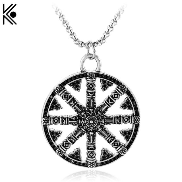 Us 2 33 25 Off Viking Nordic Rune Amulett Anhanger Halskette Vegvisir Kompass Anhanger Runic Nordic Talisman Anhanger Halskette Manner Frauen