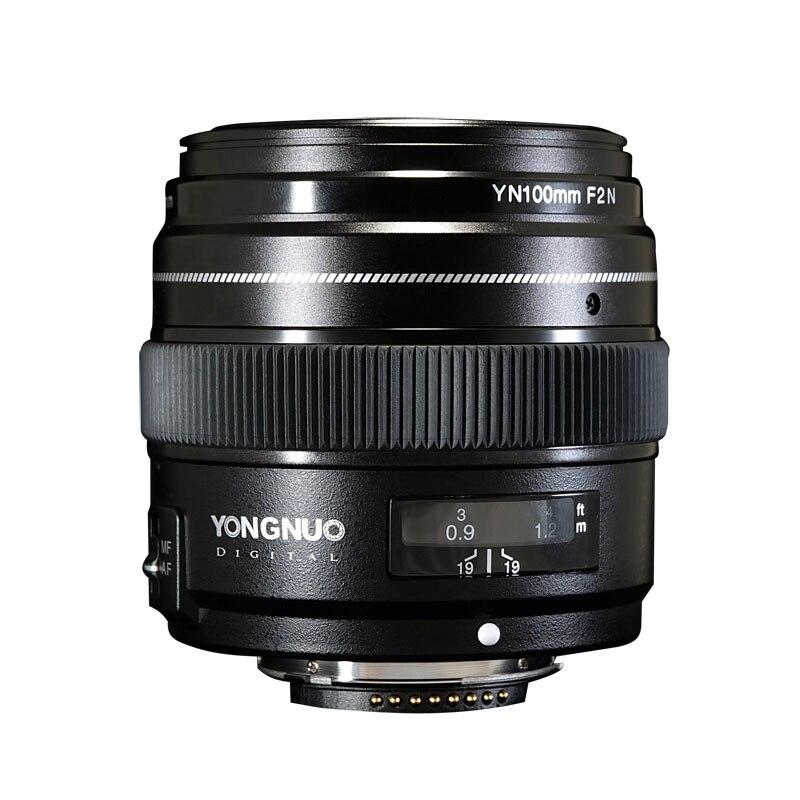 Image 4 - YONGNUO YN100mm 100mm F2N Fixed Focal for Nikon Camera Lens,support AF/MF Large Aperture Standard Medium Telephoto Prime LensCamera Lens   -
