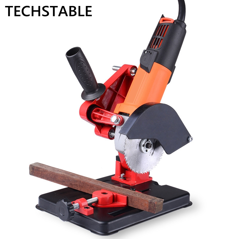 Angle Grinder Stand Angle Grinder Bracket Holder Support For 100-125 Cutter Angle Power Tool Accessory Holder