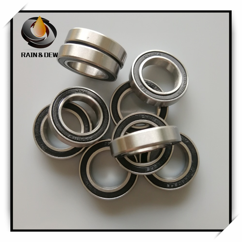 Hybrid Ceramic Ball Bearing ABEC-7 ORANGE 6700RS S6700-2RS QTY1 10x15x4 mm