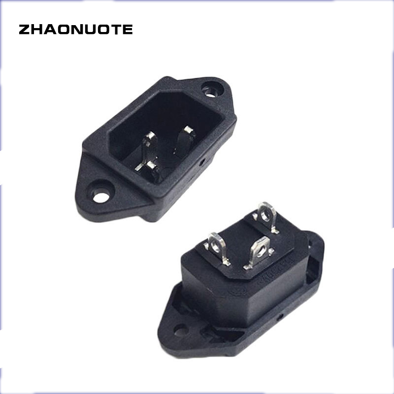 5pcs AC Type Power Socket Two Vertical and Horizontal Screw Mounting Holes For Special Industrial Socket/Electric Vehicle Socket|Electrical Sockets| - AliExpress