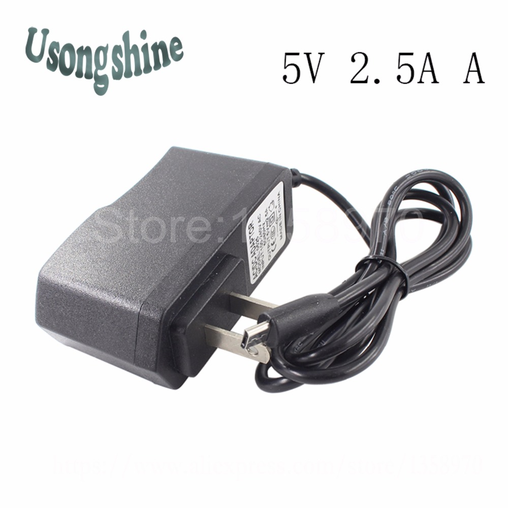 1pcs/lot 5V 2.5A for US Stander Mini USB Power Adapter AC/DC Adapter For Mobile Phone Power Supply Charger 5V 2.5A 19v 9 5a 19 5v 9 2a ac adapter tpc ba50 power charger for hp 200 5000 200 5100 200 5200 aio envy 23 1000 23 c000 23 c100 23 c200