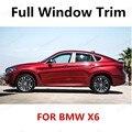 Лидер продаж  отделка для окон BMW X6  полностью из нержавеющей стали  декоративные аксессуары с колонной