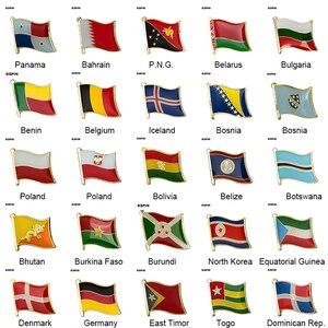 Различные штыри для лацкана, значок с флагом страны, значок с флагом страны