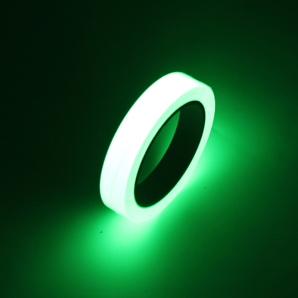 Various Sizes Luminous Tape Night Vision Glow In Dark Self-adhesive Warning Tape Safety Security Home Decoration Tapes