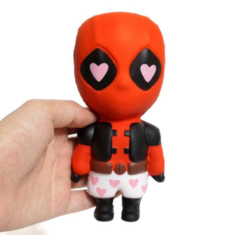 Marvel Squishy Super Hero X-Men Deadpool Scented Slow Rising Squeeze Stress Relief Antistress Squishies Toys For Children Gifts